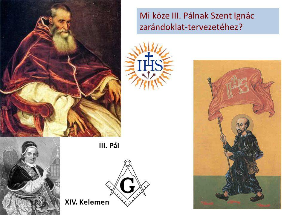 Mi köze III. Pálnak Szent Ignác zarándoklat-tervezetéhez