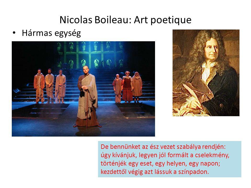 Nicolas Boileau: Art poetique
