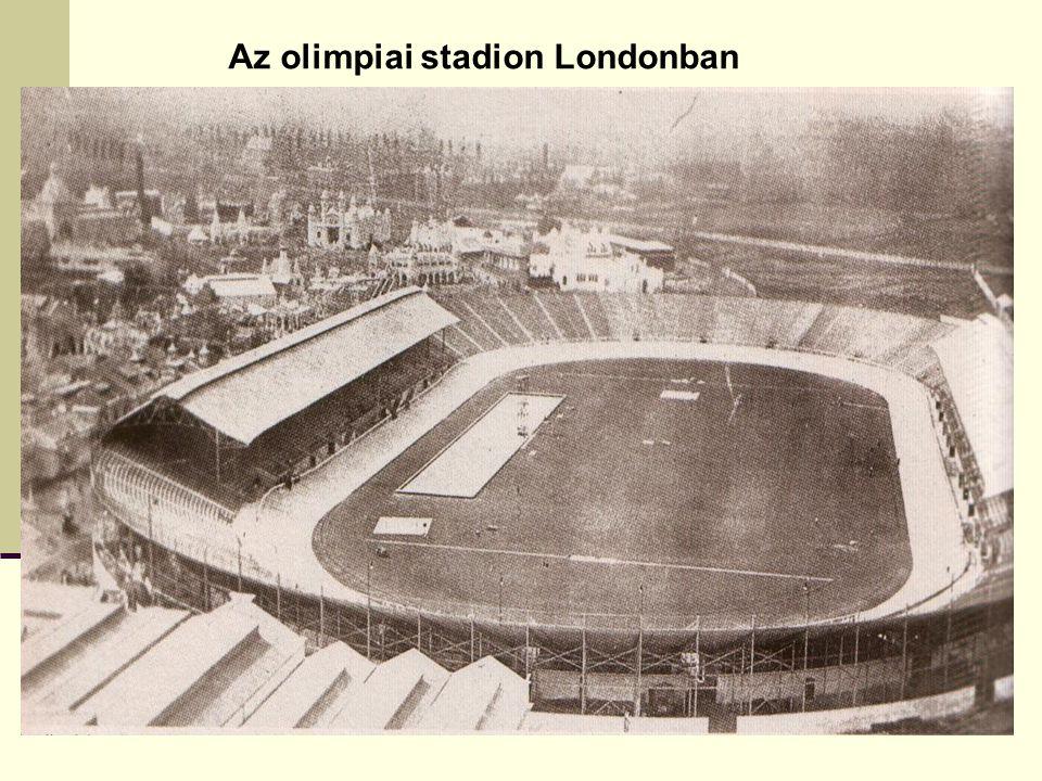 Az olimpiai stadion Londonban