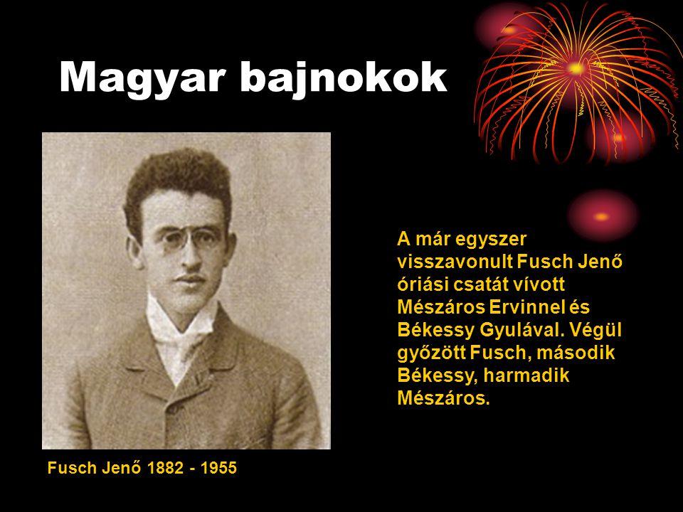 Magyar bajnokok