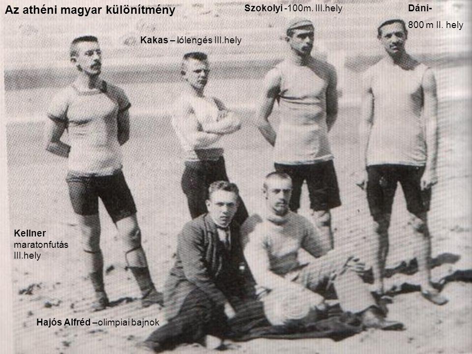 Az athéni magyar különítmény