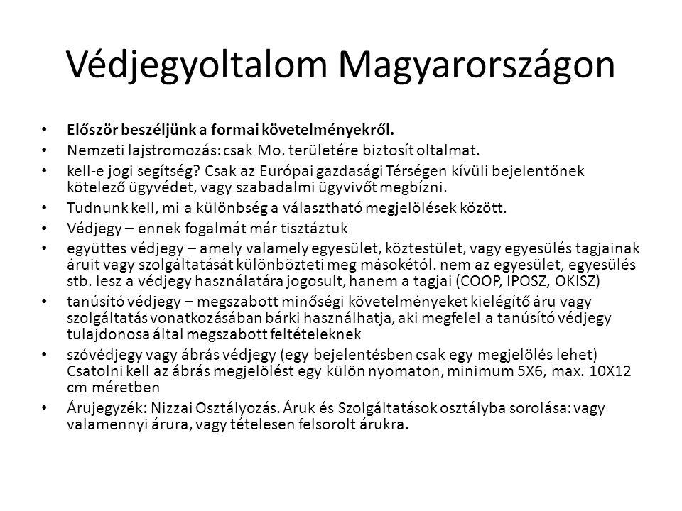 Védjegyoltalom Magyarországon