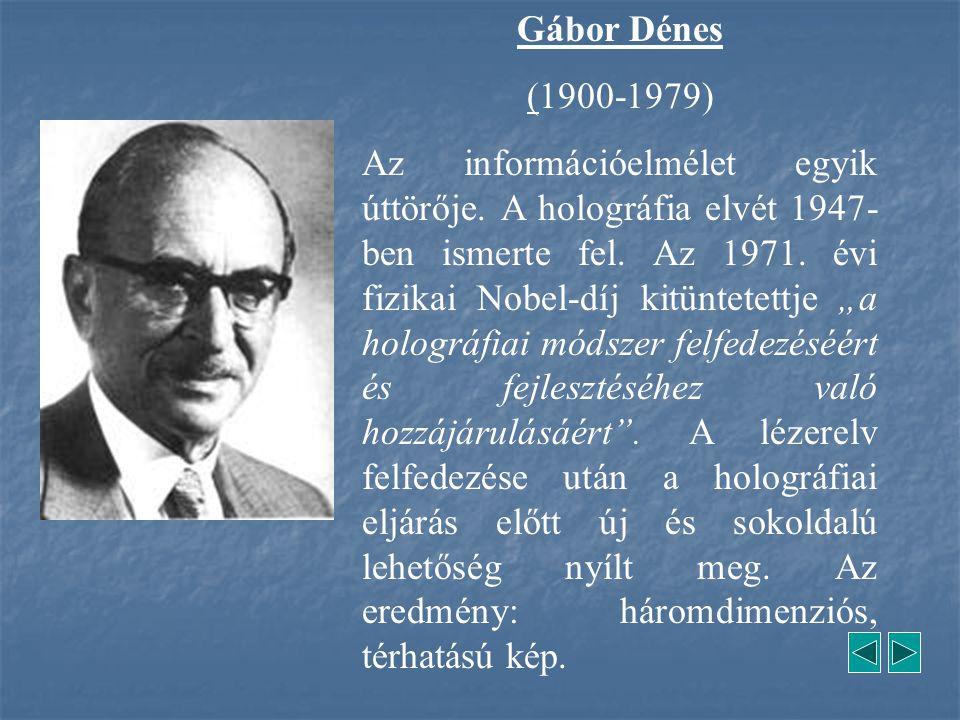 Gábor Dénes (1900-1979)