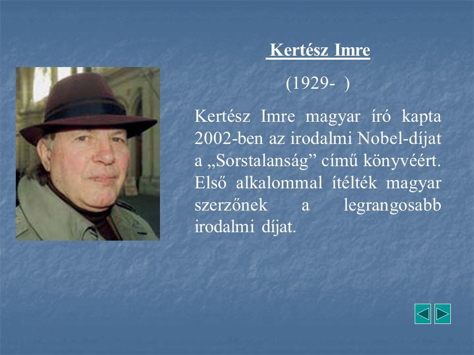 Kertész Imre (1929- )