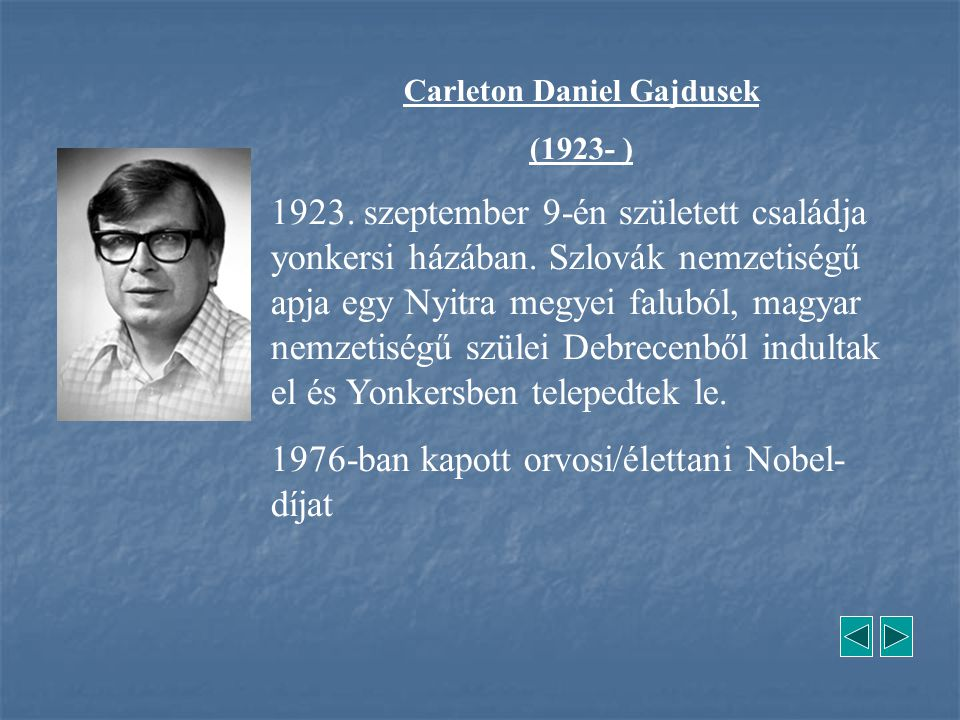 Carleton Daniel Gajdusek