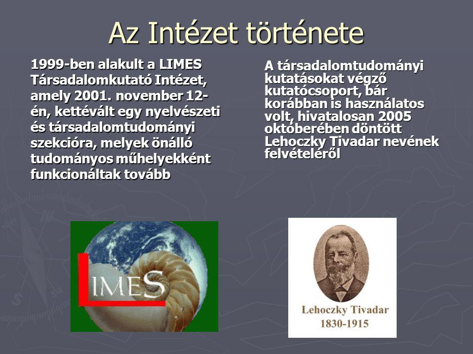 Az Intézet története