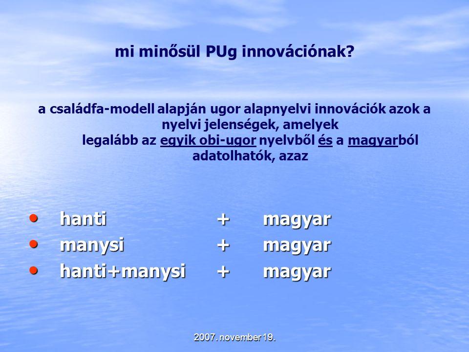 mi minősül PUg innovációnak