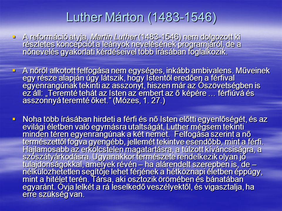 Luther Márton (1483-1546)