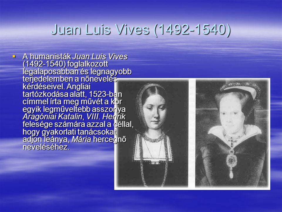 Juan Luis Vives (1492-1540)