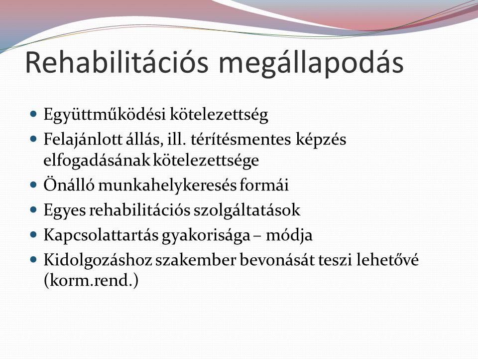 Rehabilitációs megállapodás