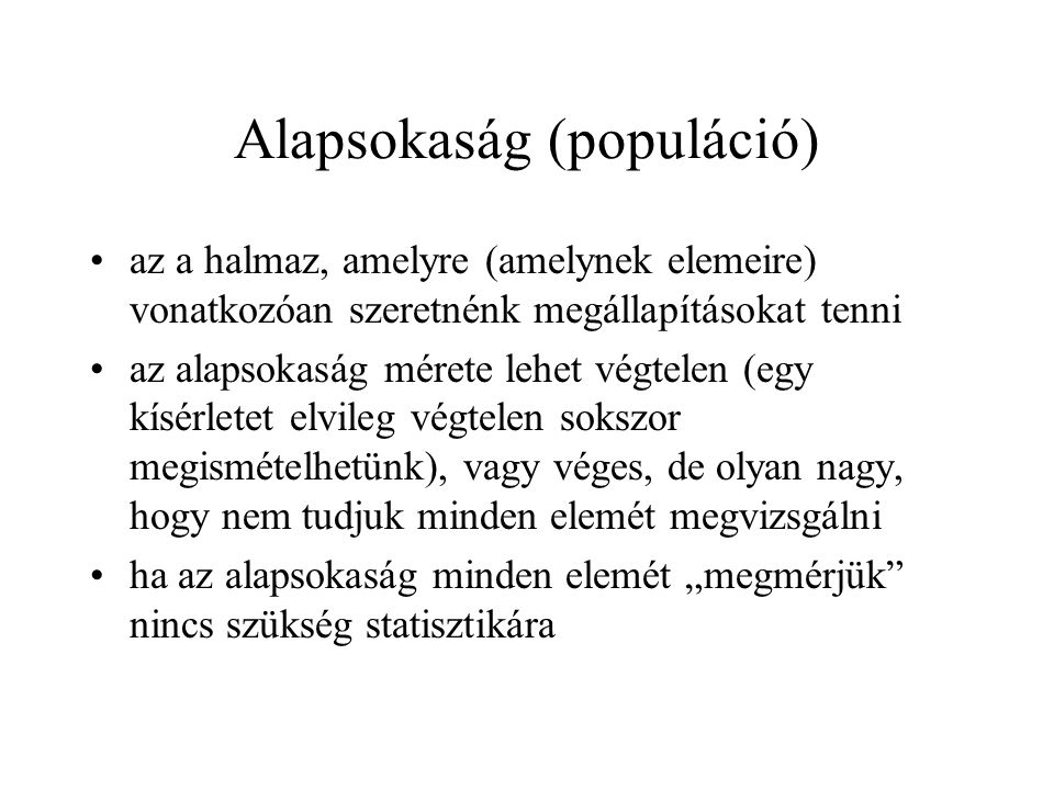 Alapsokaság (populáció)