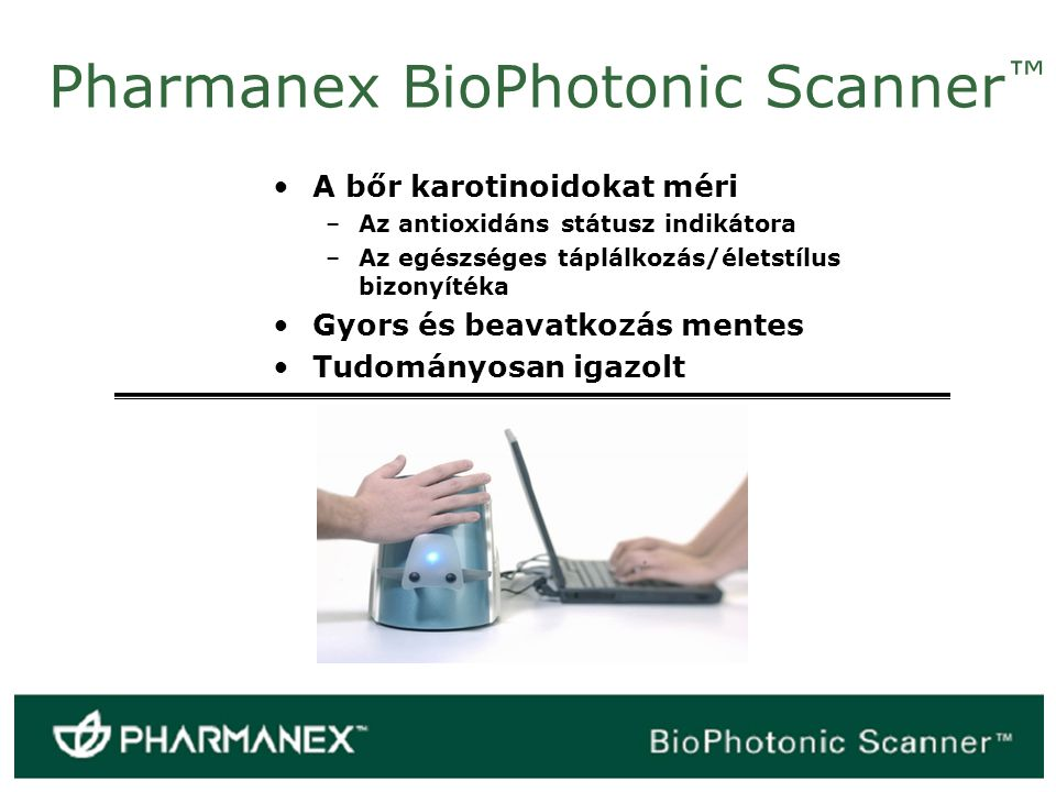 Pharmanex BioPhotonic Scanner™