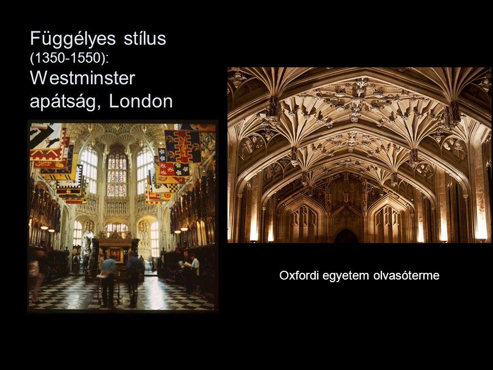 Függélyes stílus (1350-1550): Westminster apátság, London