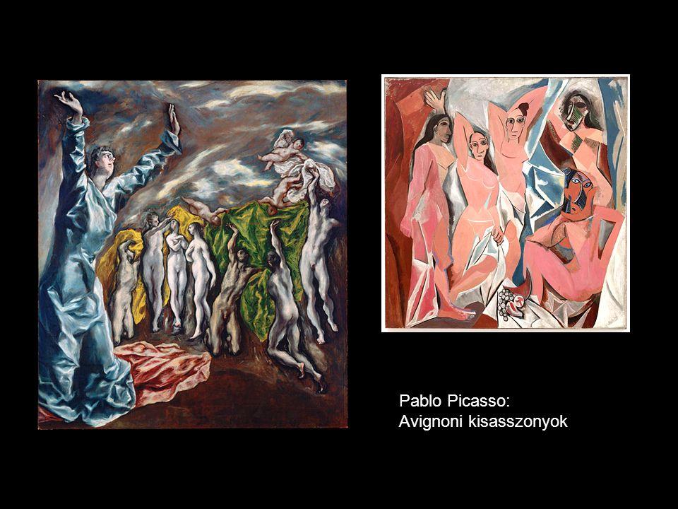 Pablo Picasso: Avignoni kisasszonyok