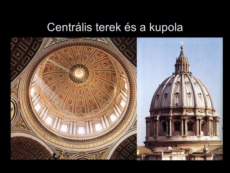 Centrális terek és a kupola