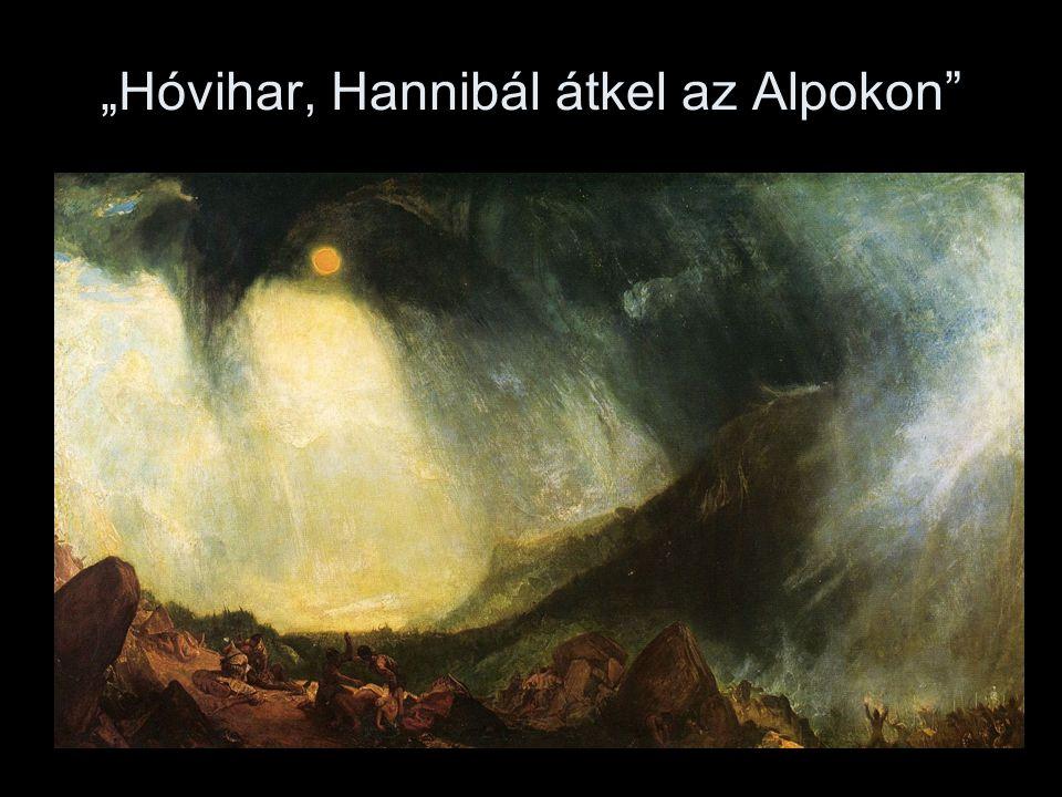 """""""Hóvihar, Hannibál átkel az Alpokon"""