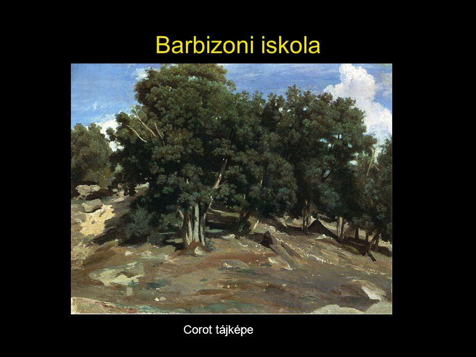 Barbizoni iskola Corot tájképe