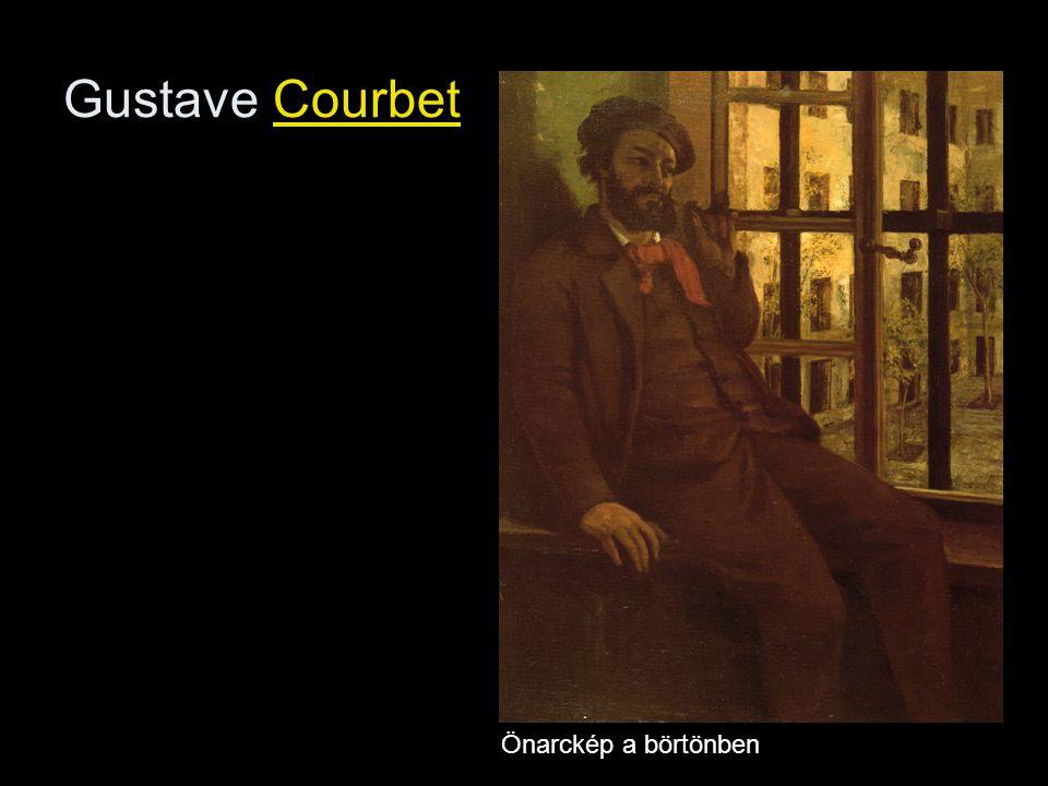 Gustave Courbet Önarckép a börtönben