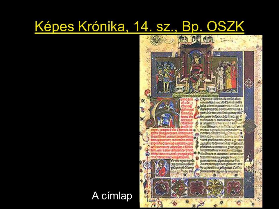 Képes Krónika, 14. sz., Bp. OSZK