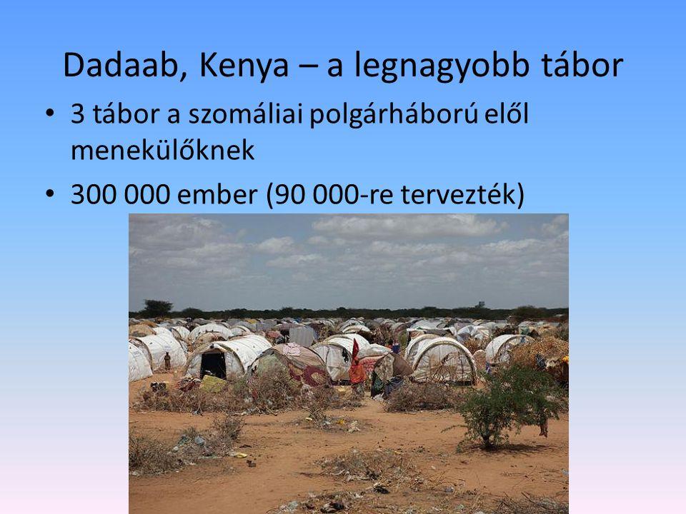 Dadaab, Kenya – a legnagyobb tábor