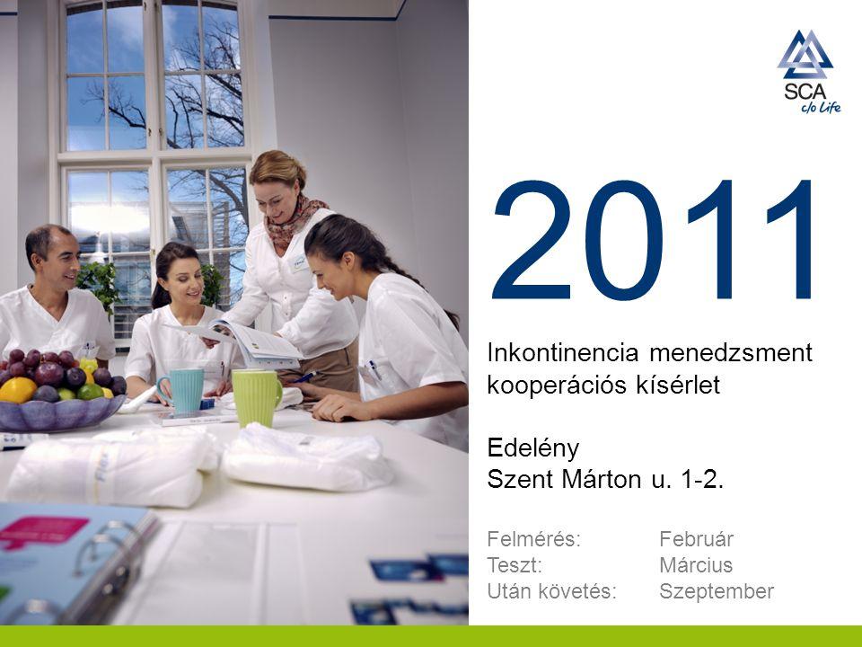 2011 Inkontinencia menedzsment kooperációs kísérlet Edelény