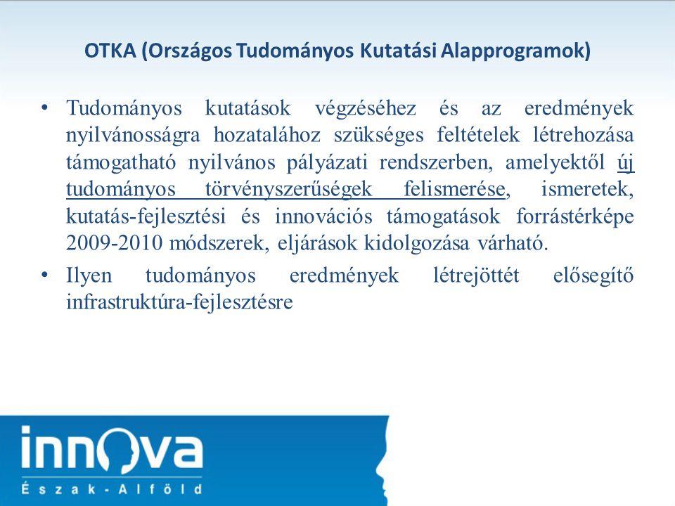 OTKA (Országos Tudományos Kutatási Alapprogramok)