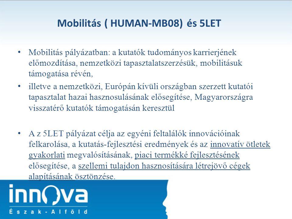 Mobilitás ( HUMAN-MB08) és 5LET