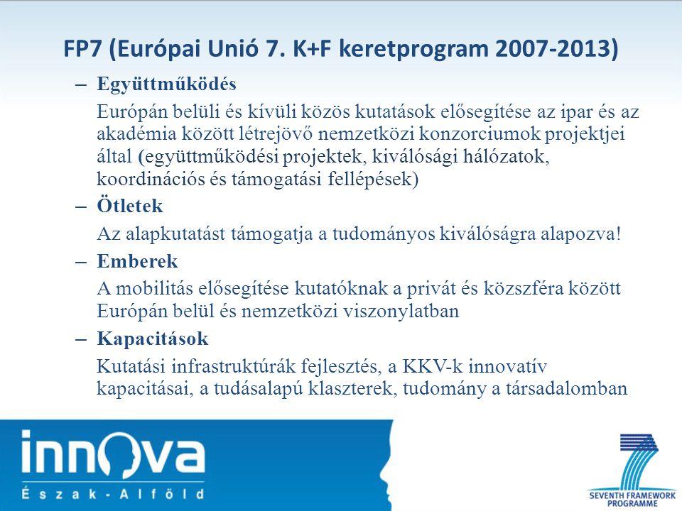FP7 (Európai Unió 7. K+F keretprogram 2007-2013)