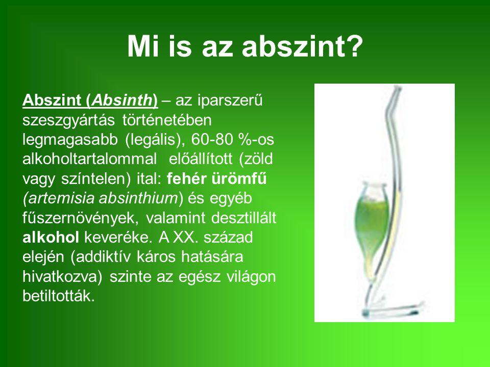 Mi is az abszint