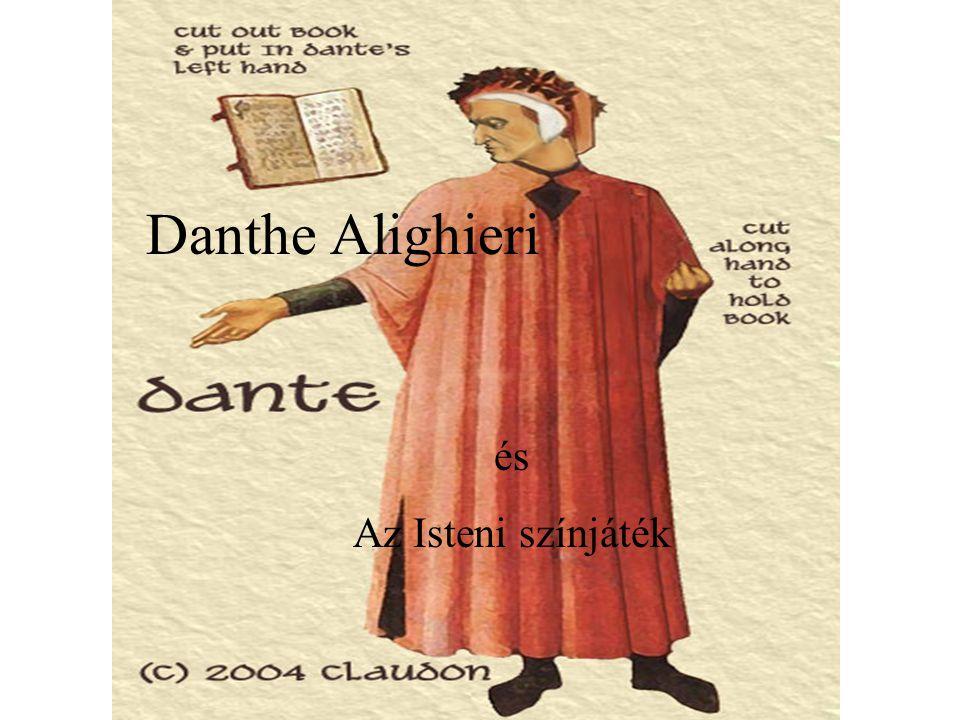 Danthe Alighieri és Az Isteni színjáték
