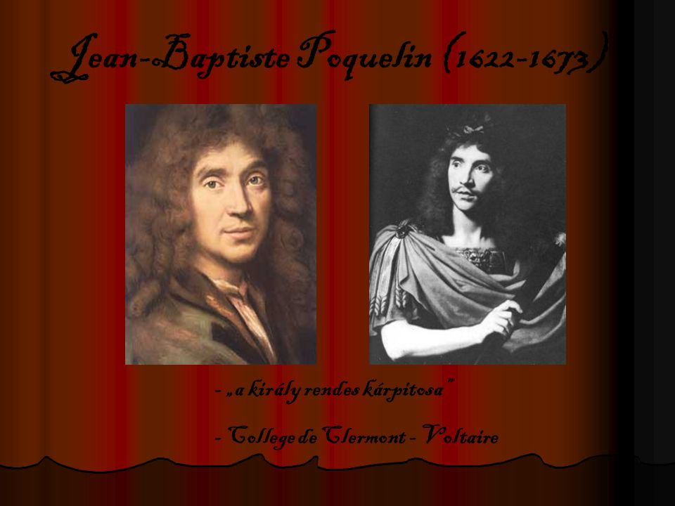 Jean-Baptiste Poquelin (1622-1673)