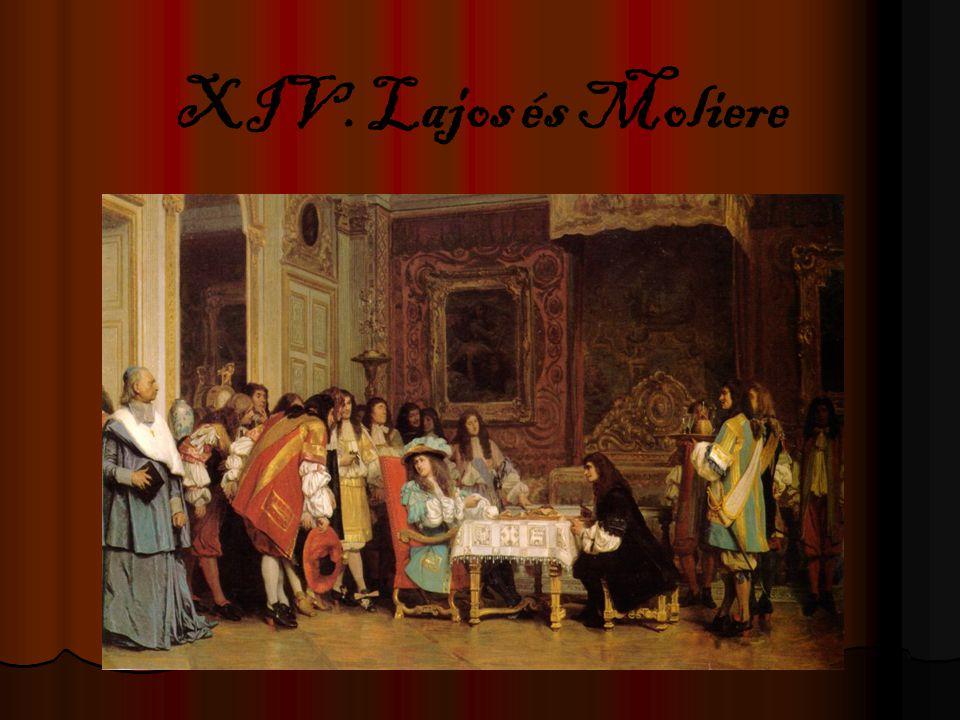 XIV. Lajos és Moliere