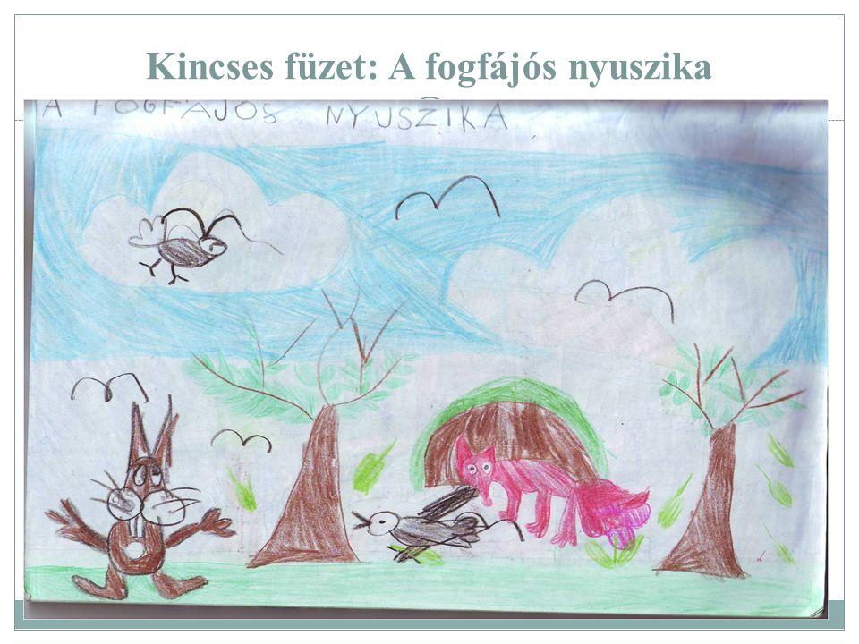 Kincses füzet: A fogfájós nyuszika
