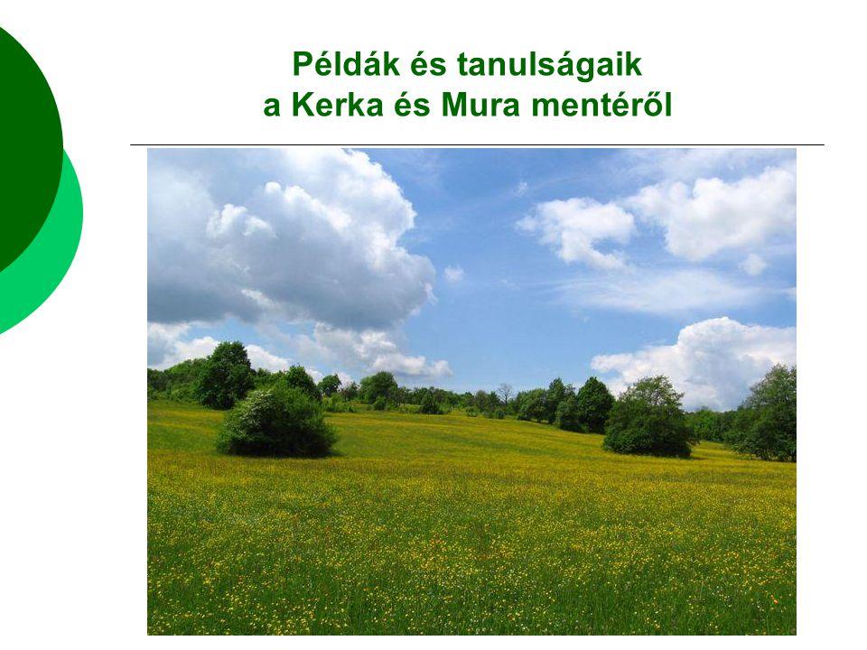 a Kerka és Mura mentéről