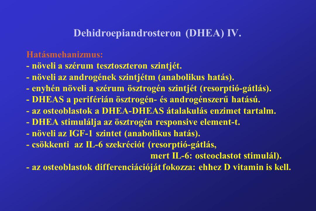 Dehidroepiandrosteron (DHEA) IV