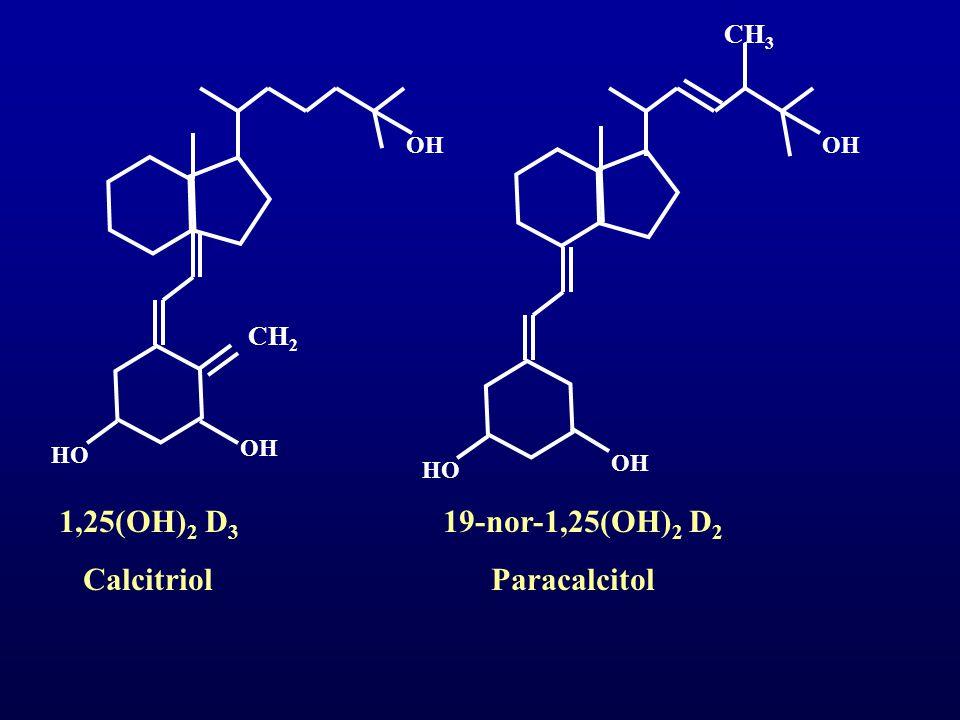 Calcitriol Paracalcitol