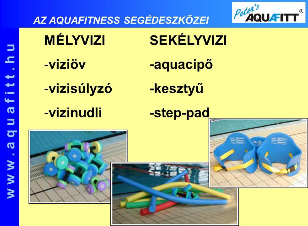 w w w . a q u a f i t t . h u MÉLYVIZI SEKÉLYVIZI viziöv -aquacipő