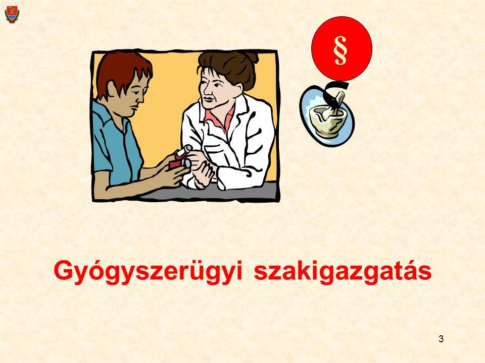 Gyógyszerügyi szakigazgatás