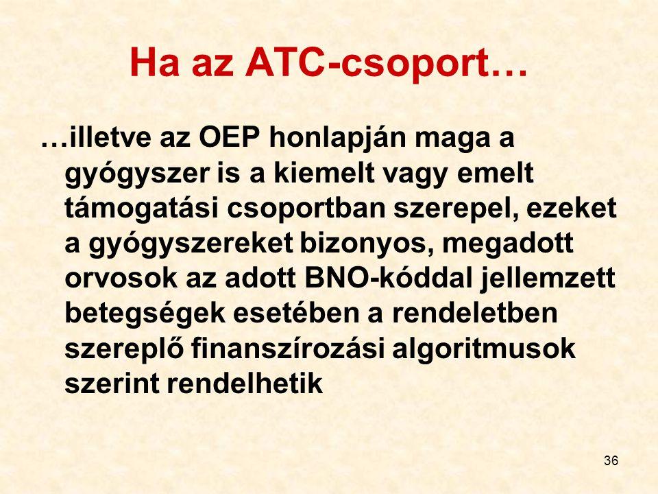 Ha az ATC-csoport…