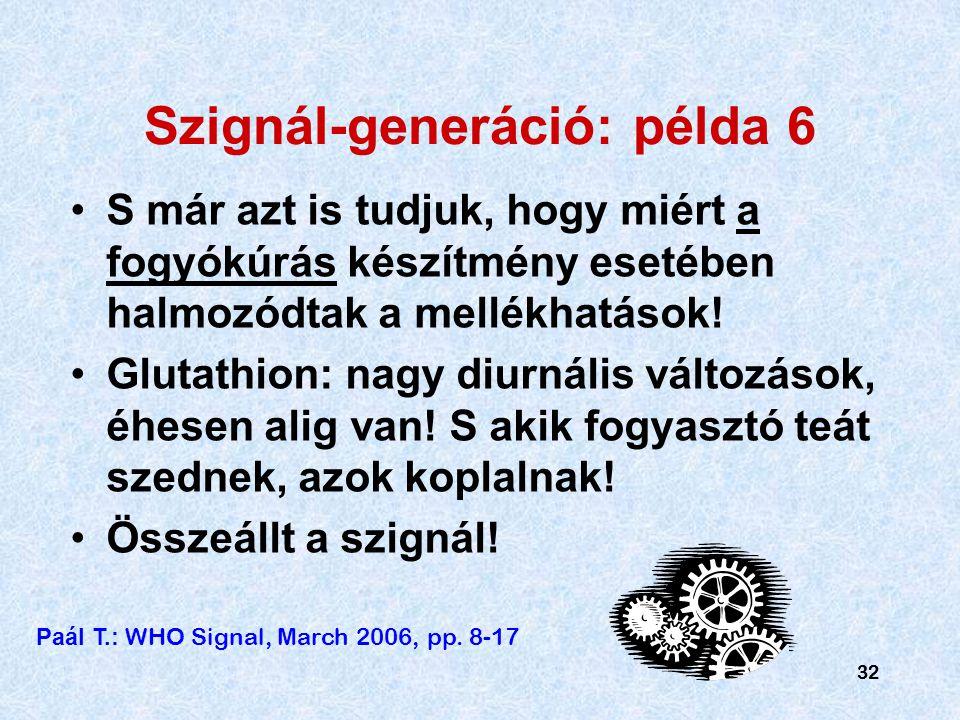 Szignál-generáció: példa 6