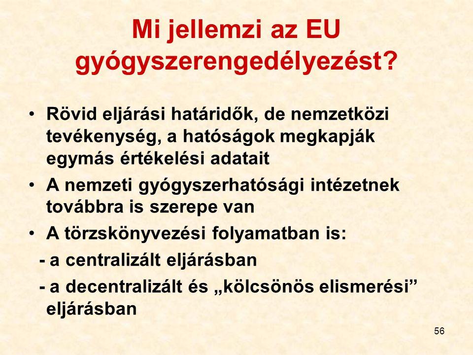 Mi jellemzi az EU gyógyszerengedélyezést