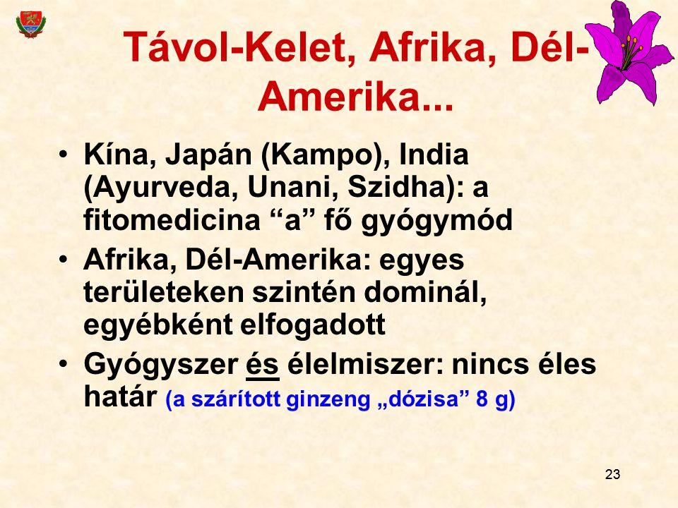 Távol-Kelet, Afrika, Dél-Amerika...