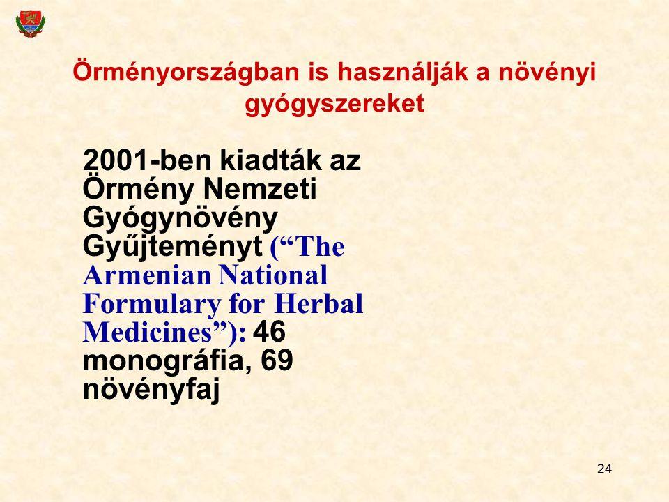 Örményországban is használják a növényi gyógyszereket