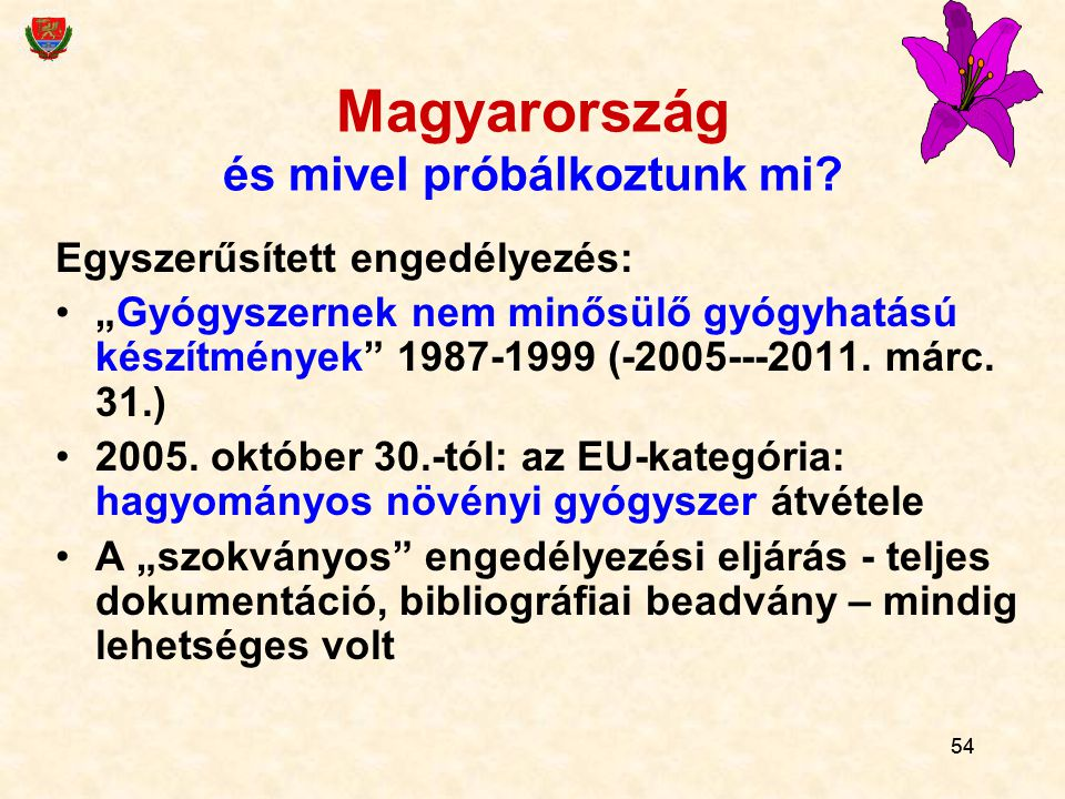 Magyarország és mivel próbálkoztunk mi