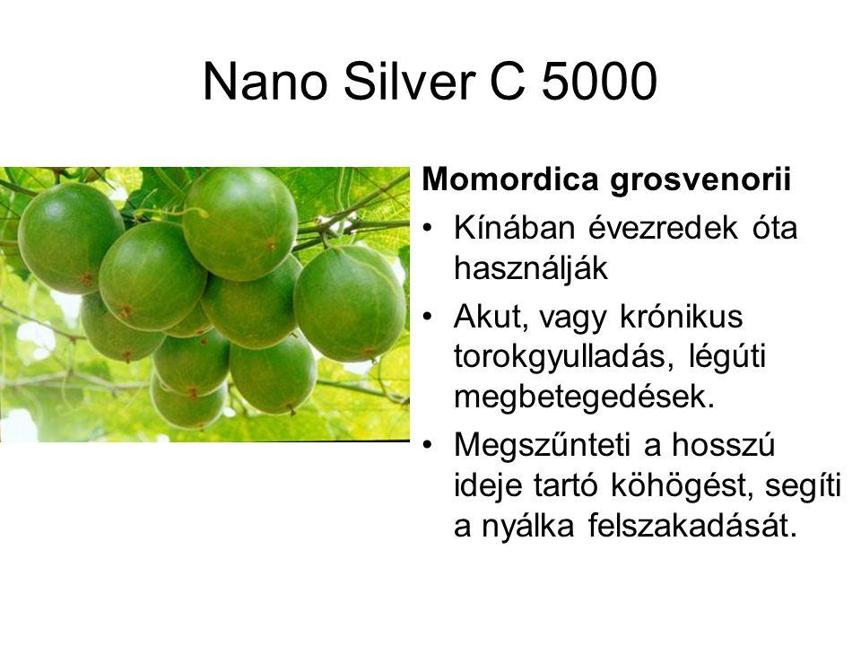 Nano Silver C 5000 Momordica grosvenorii