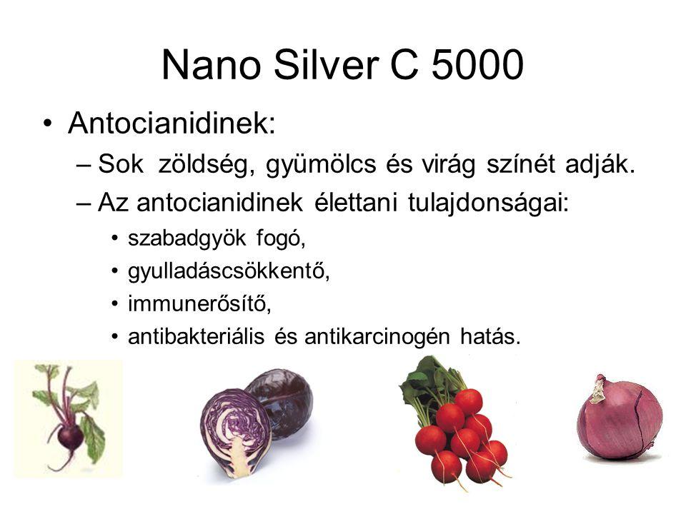 Nano Silver C 5000 Antocianidinek: