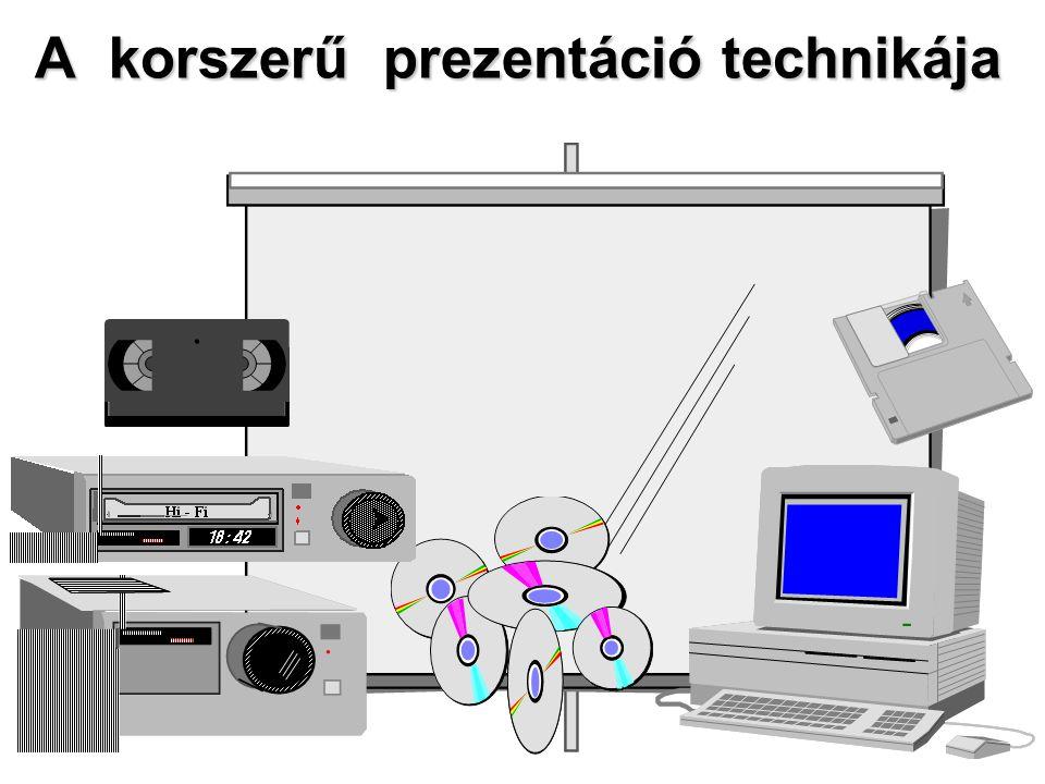 A korszerű prezentáció technikája