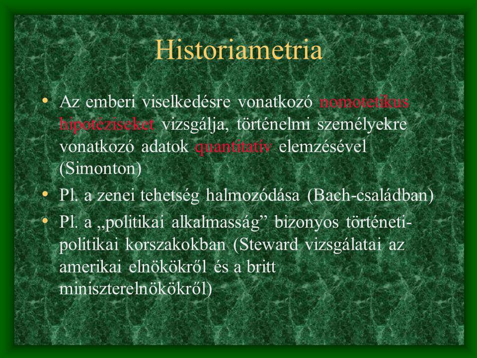 Historiametria