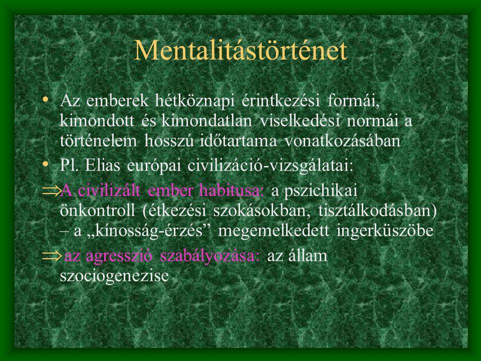 Mentalitástörténet