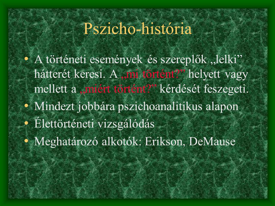 Pszicho-história